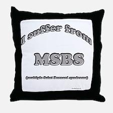Saint Syndrome Throw Pillow