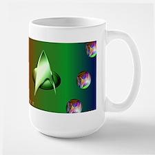 Star Trek Art Large Mugs