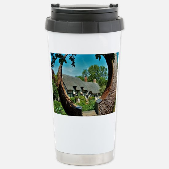 Anne Hathaway's Cottage Stainless Steel Travel Mug