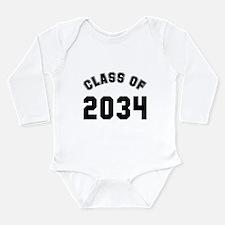 Baby class of 2034 Long Sleeve Infant Bodysuit