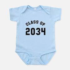 Baby class of 2034 Onesie