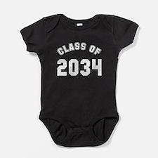 Baby class of 2034 Baby Bodysuit