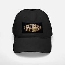 Retired Bartender Baseball Hat