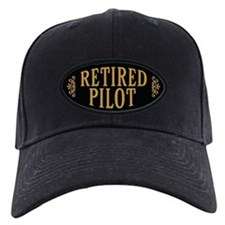 Retired Pilot Baseball Hat