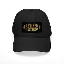 Retired Electrician Baseball Cap