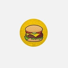 Cheeseburger Mini Button