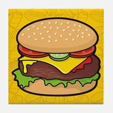 Cheeseburger Tile Coaster