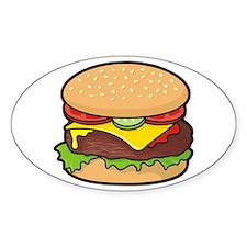 Cheeseburger Decal
