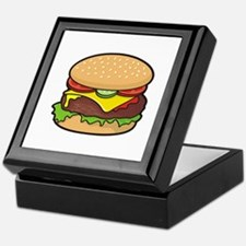 Cheeseburger Keepsake Box