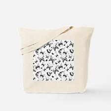 Butterflies In Flight Tote Bag
