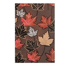 Leaves Postcards (Package of 8)