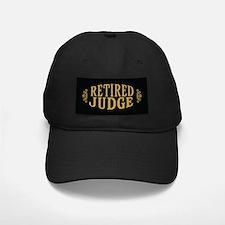 Retired Judge Baseball Hat