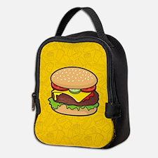 Cheeseburger Neoprene Lunch Bag