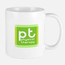 3-PT-curvyfont-dark2 Mugs