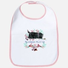 Seashore Scottie Island Dog Bib