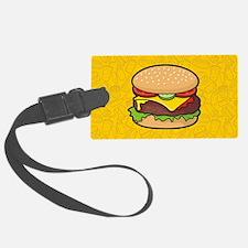 Cheeseburger Luggage Tag