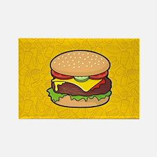Cheeseburger Magnets