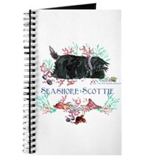 Seashore Scottie Island Dog Journal