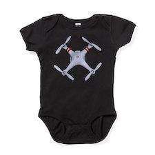 Unique Quads Baby Bodysuit
