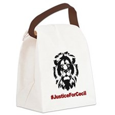 Justice for Cecil Canvas Lunch Bag