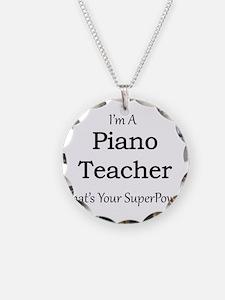 Piano Teacher Necklace