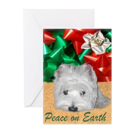 Westie Yule Greeting Cards (Pk of 20)