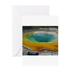 yellowstone national park Greeting Cards