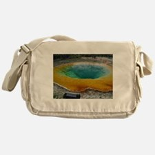 yellowstone national park Messenger Bag