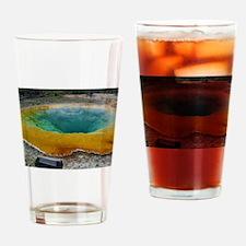 yellowstone national park Drinking Glass