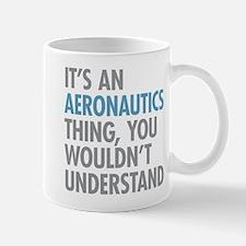 Aeronautics Thing Mugs