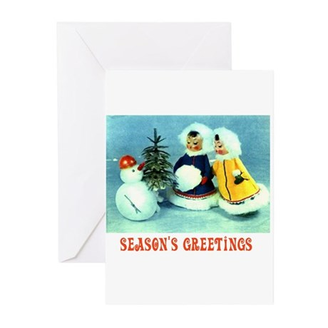 Kitschy Greetings - Season's Greetings Greeting Ca