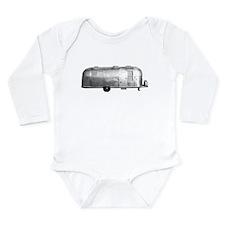 Cute Trailer trash Long Sleeve Infant Bodysuit