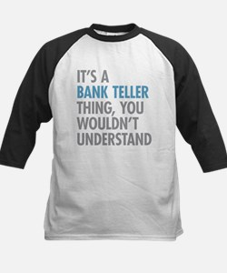 Bank Teller Thing Baseball Jersey