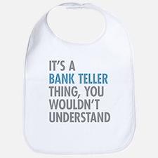 Bank Teller Thing Bib