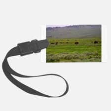 yellowstone national park Luggage Tag