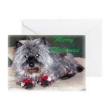 Cairn Terrier Chanukah Greeting Card