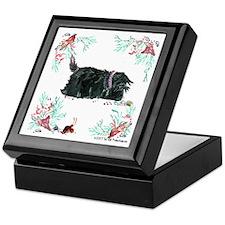 Seashore Scottie Island Dog Keepsake Box