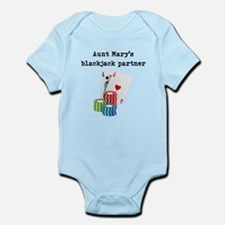 Aunts Blackjack Partner Body Suit