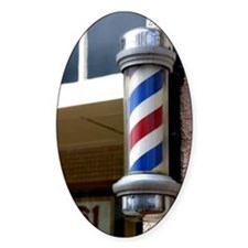 Barber Sign Decal