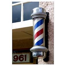 Barber Sign Poster