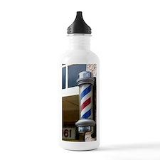 Barber Sign Water Bottle