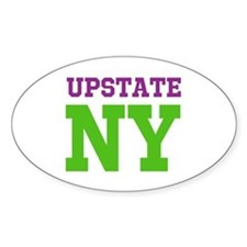 UPSTATE NEW YORK (ATHLETIC) Decal