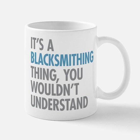 Blacksmithing Thing Mugs