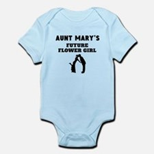 Aunts Future Flower Girl Body Suit