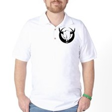Bull Skull - Black T-Shirt