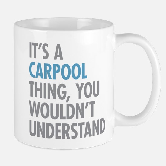 Carpool Thing Mugs