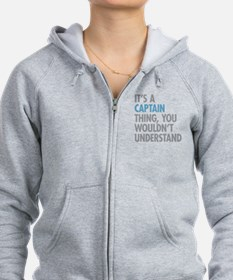 Captain Thing Zip Hoodie