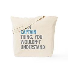 Captain Thing Tote Bag