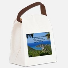 Follow Your Instincts Canvas Lunch Bag