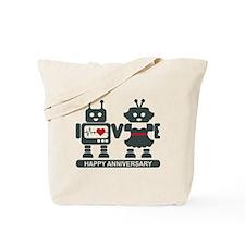 LV - Robots - Anniversary Tote Bag